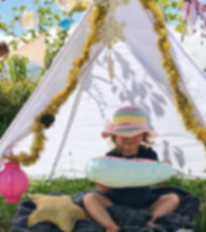 Kids Sleepovers Glamping Kids Areas