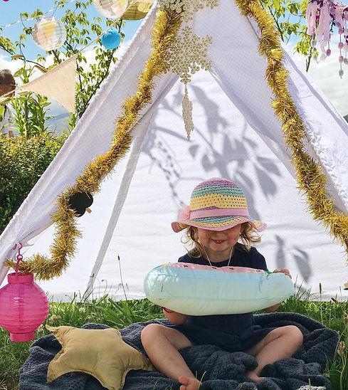 Kids Sleepovers Glamping Kids Areas
