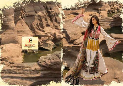 6ec4bdd2e4 Deepsy Crimson Lawn 19 Cotton Pakistani Salwar Kameez Collection Wholesale  Surat
