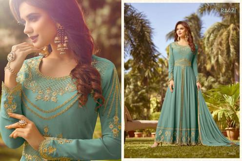 c83fcbd043 Rama Fashion Raazi Vol 7 20017-20024 Series Party Wear Gown | Rehmat  Boutique