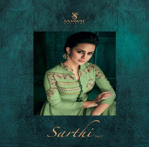 75ebea6257 Sajawat Sarthi Vol 5 Pure Heavy Muslin Readymade Salwar Kameez Collection    Rehm
