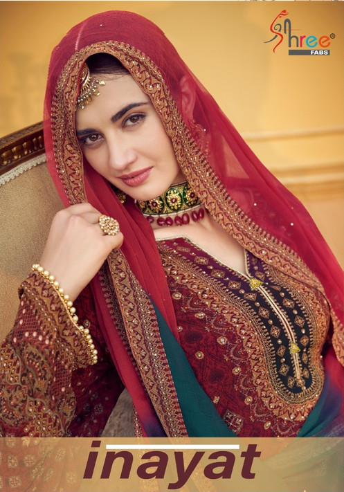 90edb6b53b Shree fabs Inayat Pakistani Style Salwar Suits Collection
