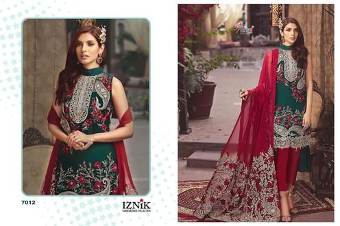 a981ffec0b Shree fabs Iznik embroidered Pakistani Salwar Kameez Dresses Collection  Wholesale