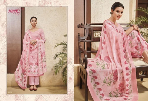 2004ccaa33 Kimora Heer Vol 48 Cross Stich Embroidered Salwar Kameez Collection  Wholesale