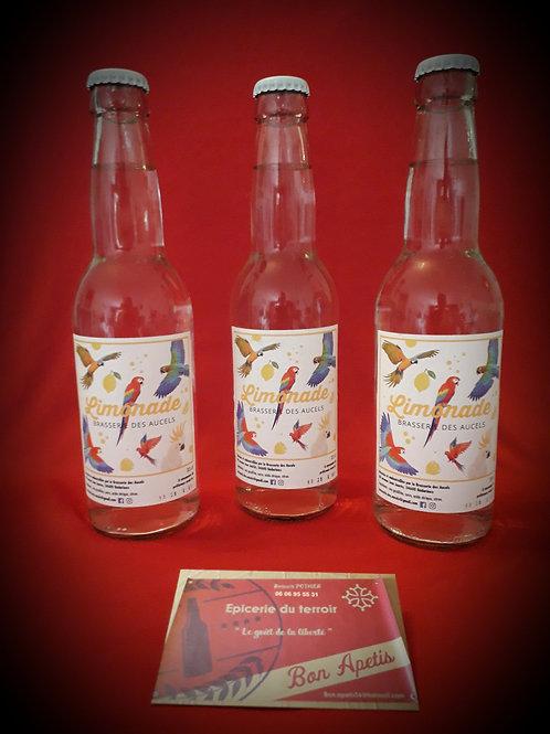 Les 3 limonades artisanales en 33cl