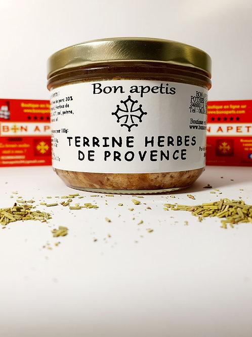 Terrine aux herbes de Provence