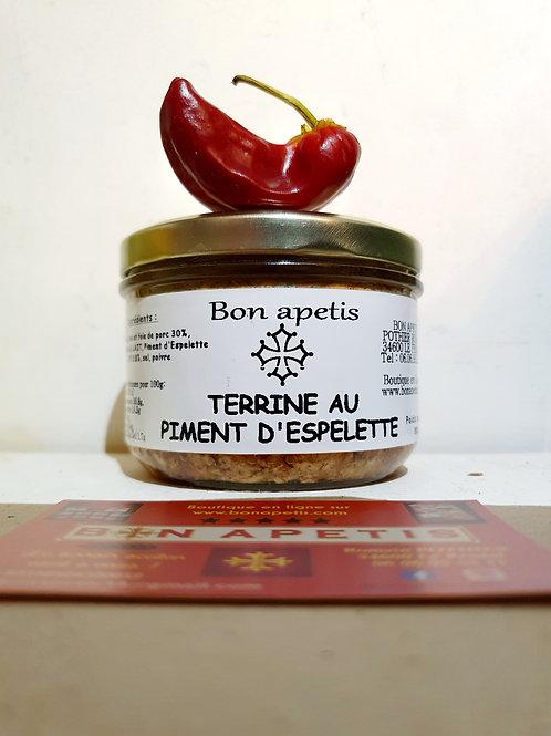 Terrine au piment d'Espelette