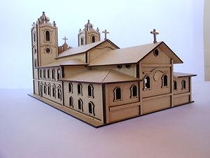 maquete igreja