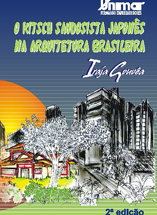 Livro de arquitetura sobre os imigrantes japoneses e suas construções