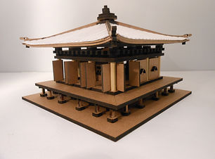 maquete de templo