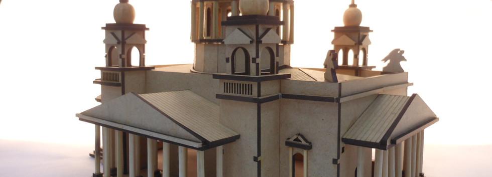 modelo arquitetônico - Catedral