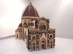 maquete catedral florença