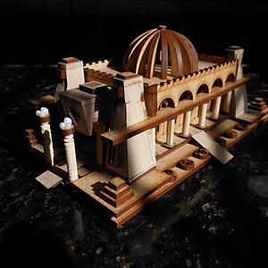 Maquete - Templo de Salomão
