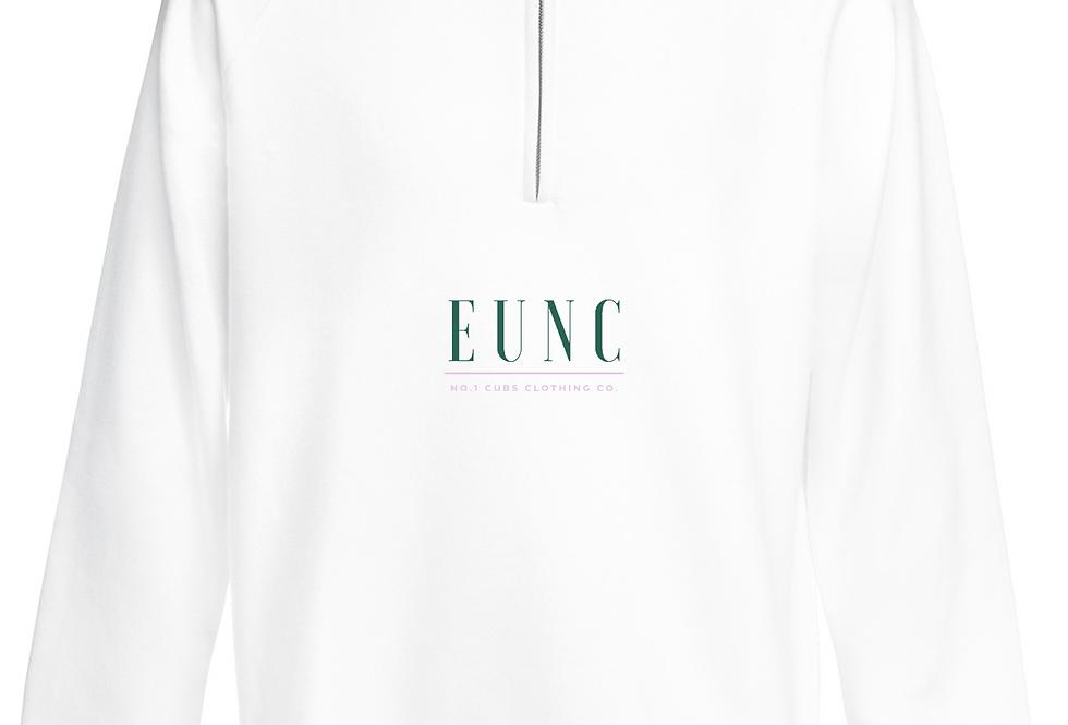 EUNC x NO1 CUBS WHITE QUARTER ZIP