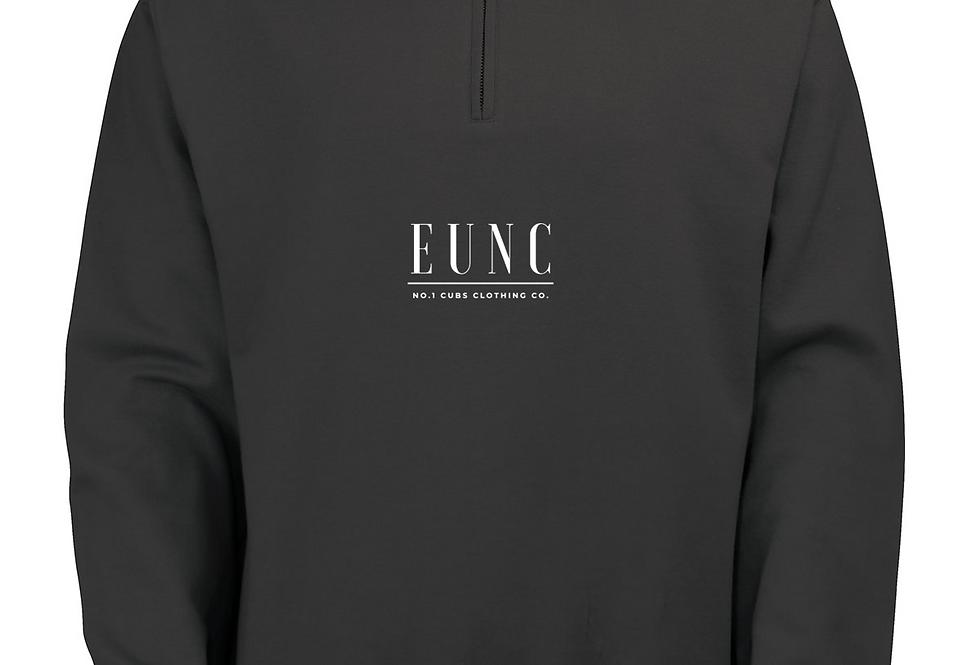 EUNC x NO1 CUBS JET BLACK QUARTER ZIP