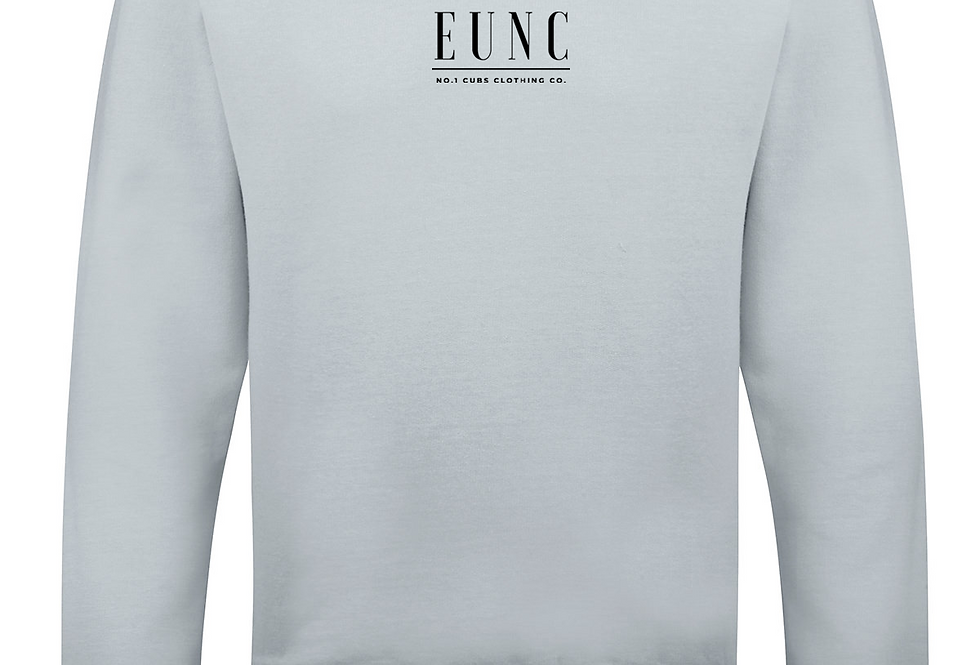 EUNC x NO1 CUBS HEATHER GREY TRACKSUIT