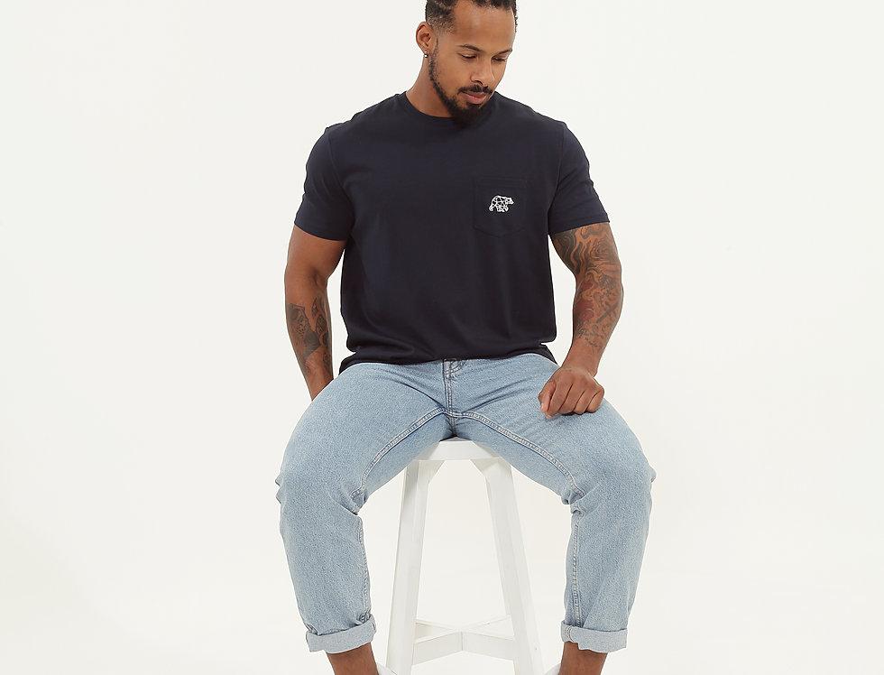 Pocket T-Shirt Navy