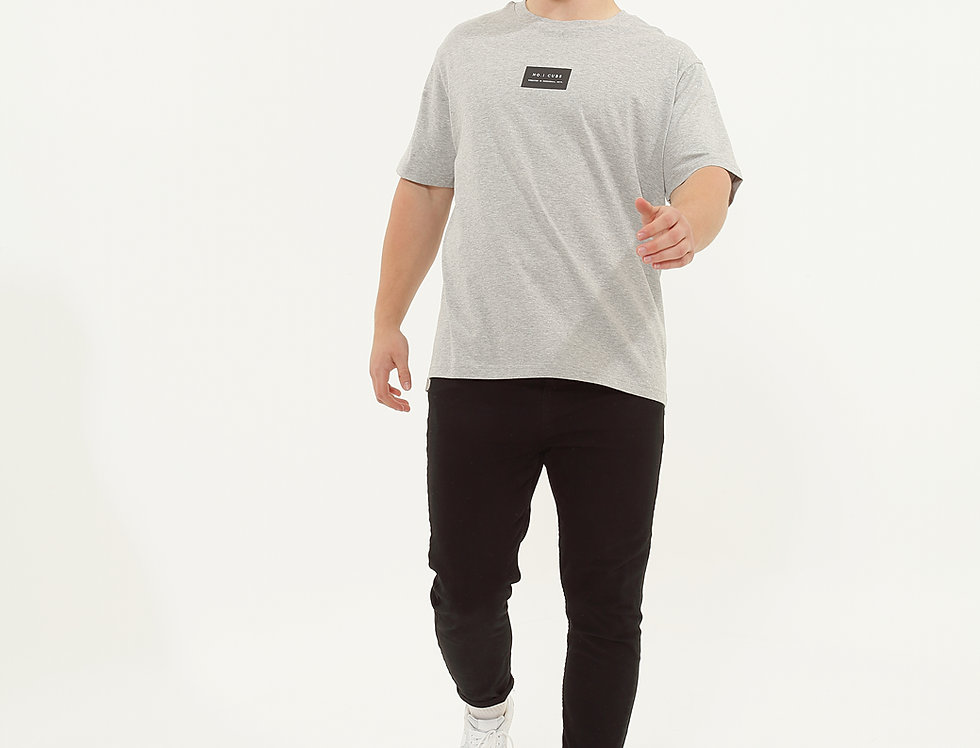 Created T-Shirt Heather Grey