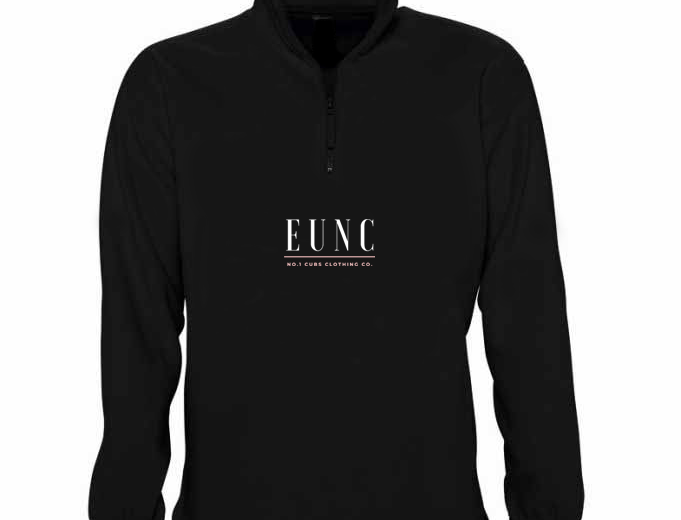 EUNC X NO1 CUBS BLACK FLEECE