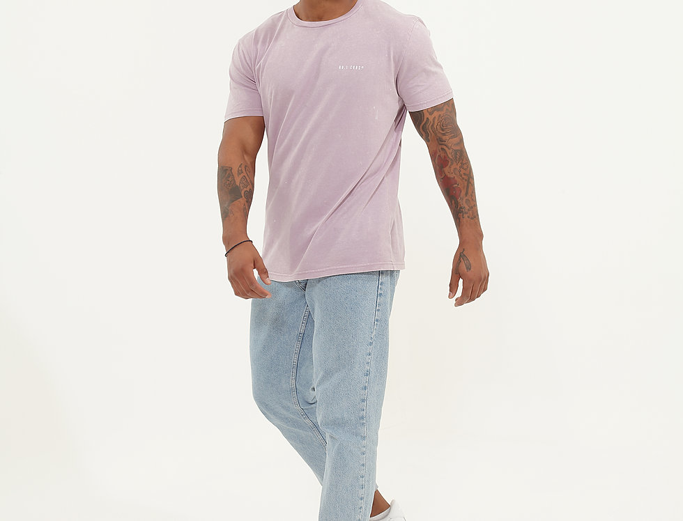 Essentials T-Shirt Washed Lilac