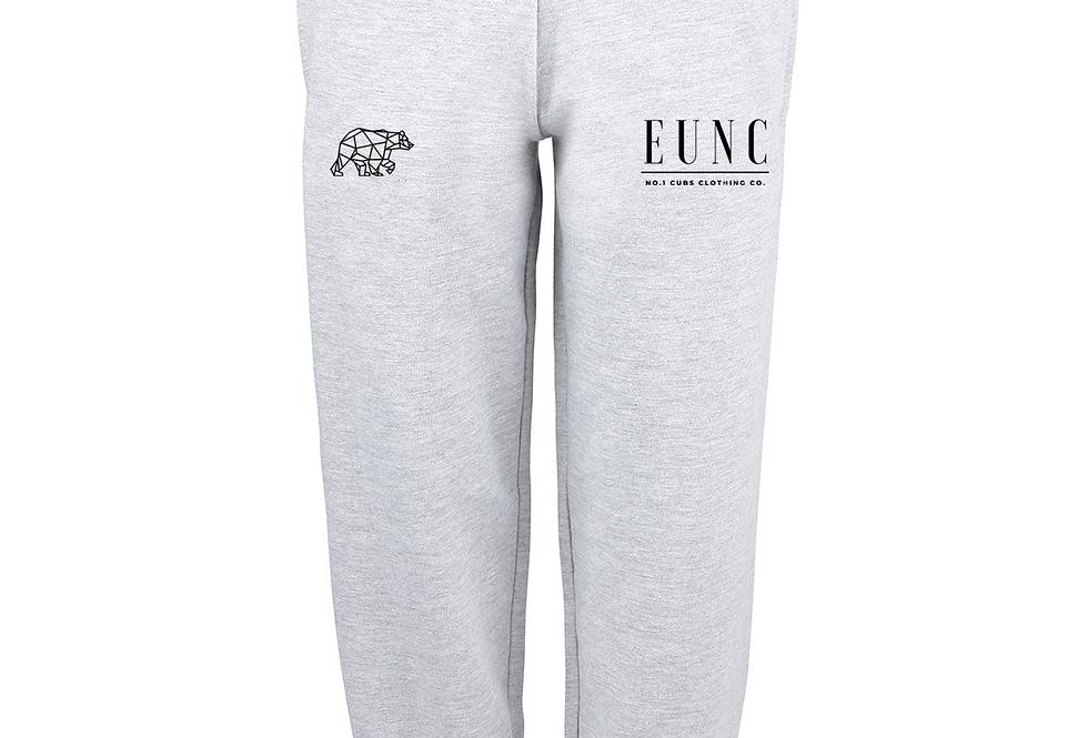 EUNC x NO1 CUBS HEATHER GREY SWEATPANTS