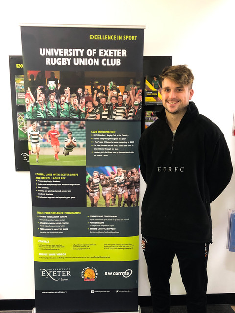 Exeter Univeristy Rugby Fleece