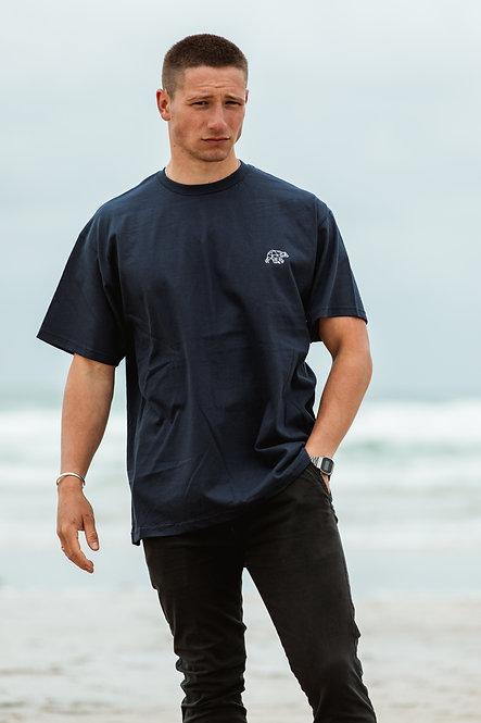Polybear T-Shirt - Navy // White