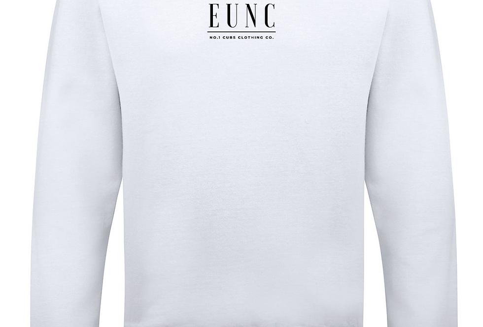 EUNC x NO1 CUBS WHITE SWEATSHIRT