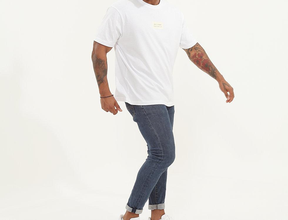 Created T-Shirt White