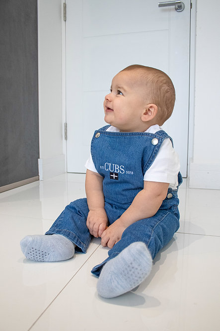 BABY CUBS DUNGAREES