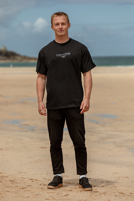Beginning T-Shirt - Black // White