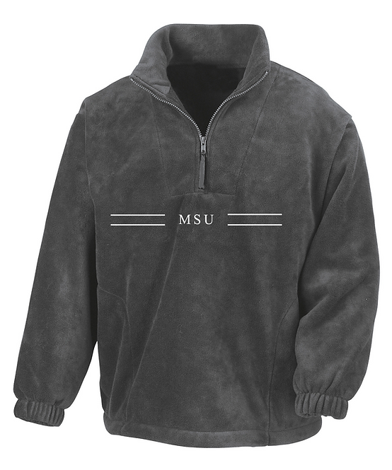 MSU x CUBS FLEECE - Oxford Grey