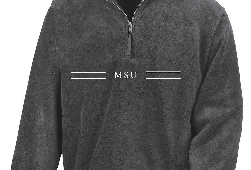 MSU x CUBS FLEECE - Oxford Grey