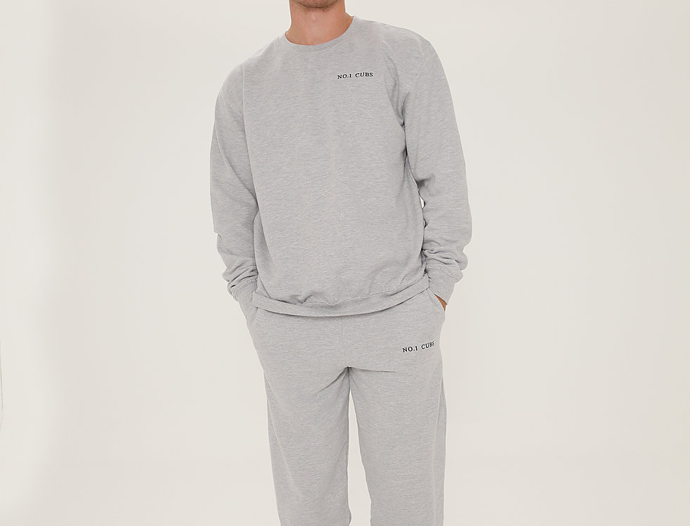 NO.1 CUBS TRACKSUIT GREY
