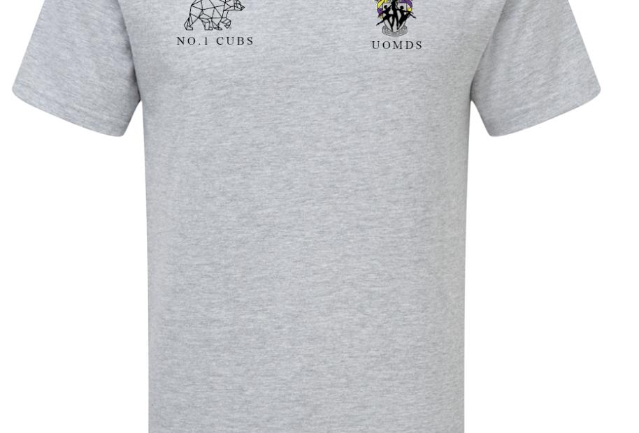 UOMDS T-Shirt // Grey