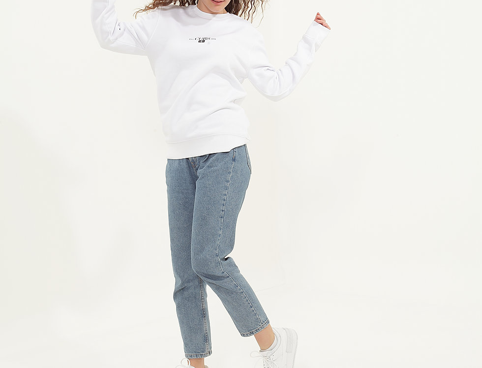 Kernow Sweatshirt White