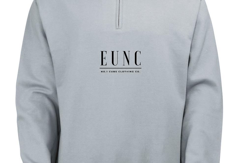 EUNC x NO1 CUBS HEATHER GREY QUARTER ZIP