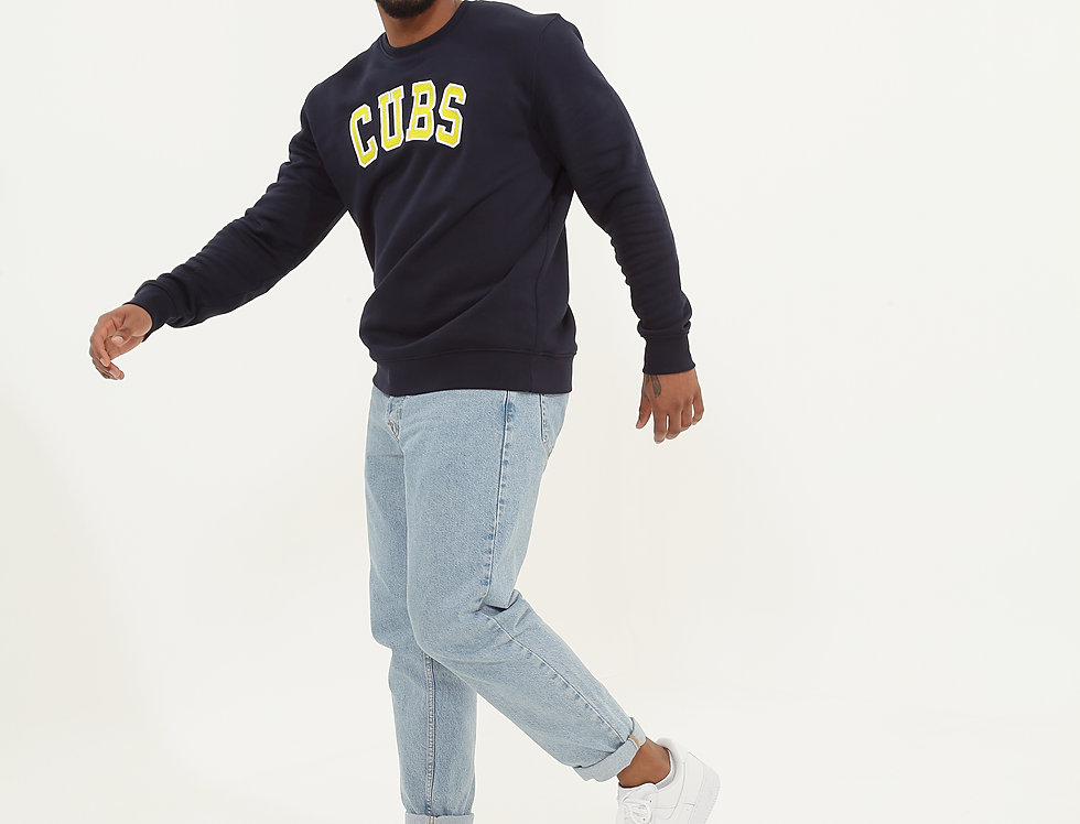 College Sweatshirt Navy