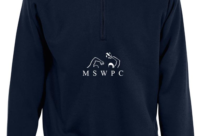 MSWPC Navy Quarter Zip