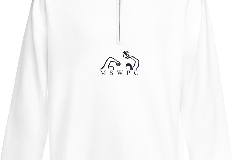 MSWPC White Quarter Zip