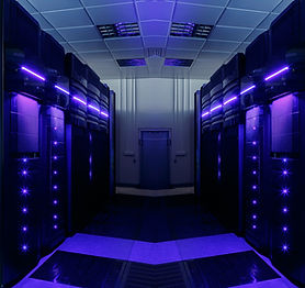 symmetrical data center room with futuri