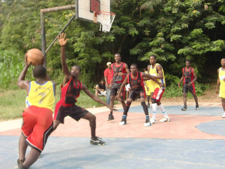 Basketball match - ANOPA vs. MFANTSIPIM high school