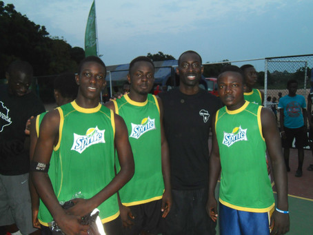 Basketball clinic by NBA Stars