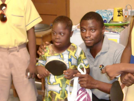 Sports for everyone - Visit to the special needs school