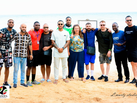Memphis Depay, Leroy Fer and friends visited ANOPA Project.