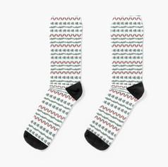 Bug Lines Socks