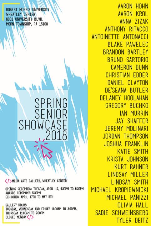 spring senor showcase 2018 tv