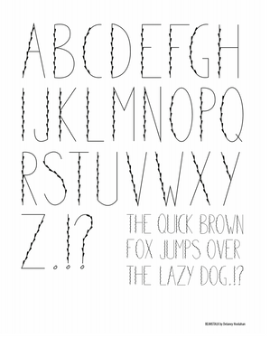 beanstalk alphabet