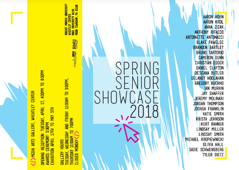spring senior showcase 2018 email