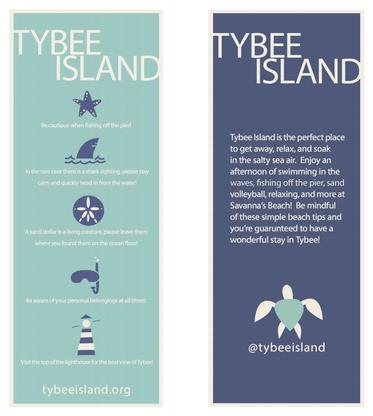tybee information card